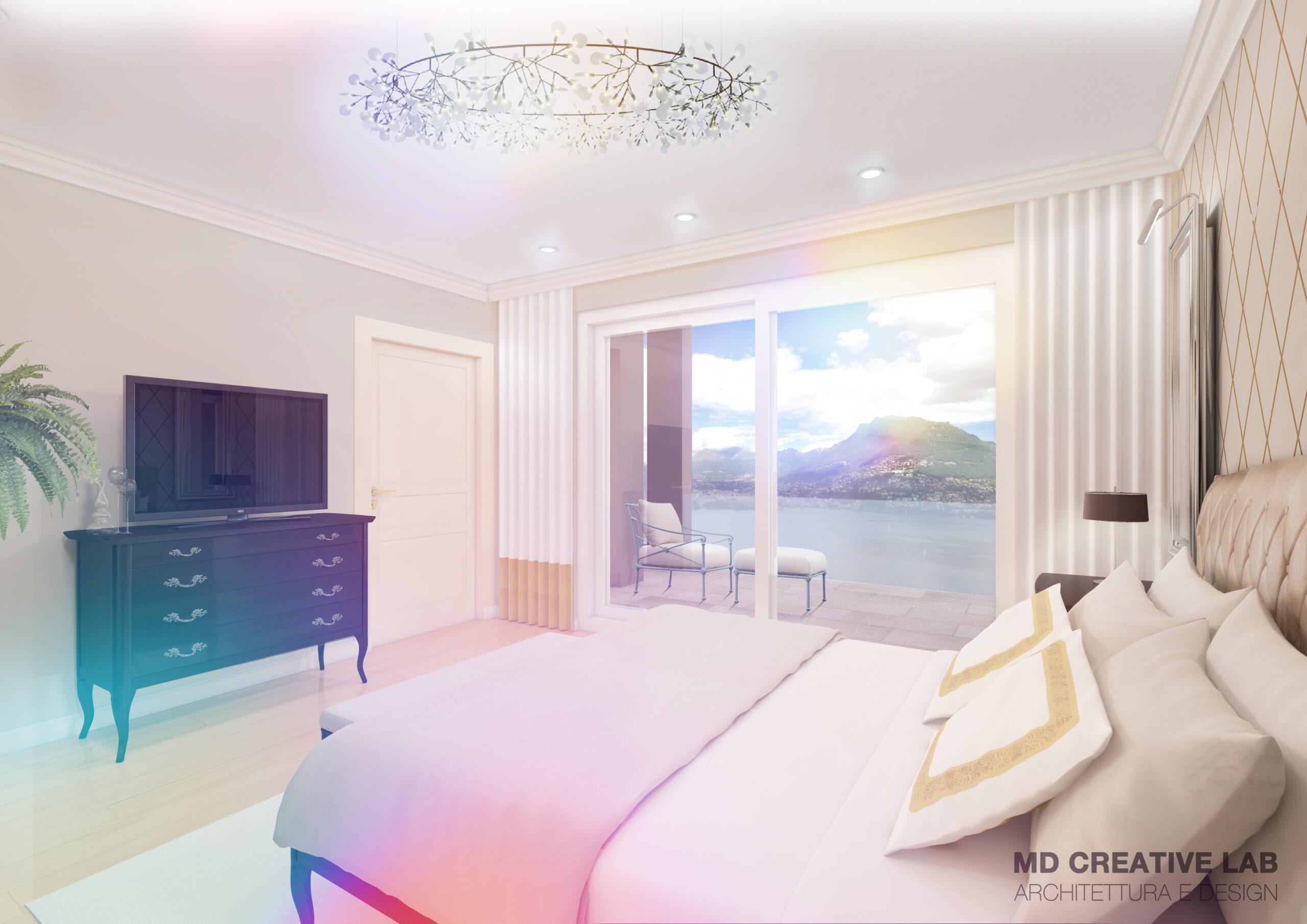 MD Creative Lab Lugano  Bedroom Design Lugano Paradiso  Emerald Living Residnece scaled